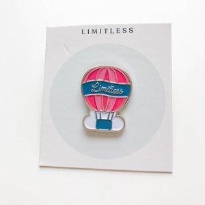 Limitless Hot Air Balloon Enamel Pin